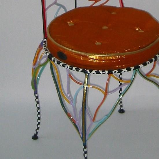 Toms Drag Art - Stuhl Krone