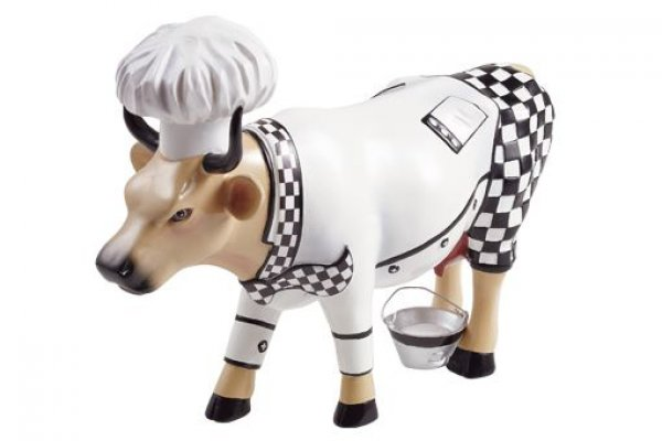 Cowparade - Chef Cow - Koch