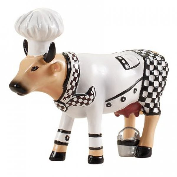 Cowparade - Chef Cow (S)