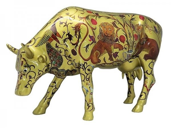 Golden Byzantine (L) - Cowparade