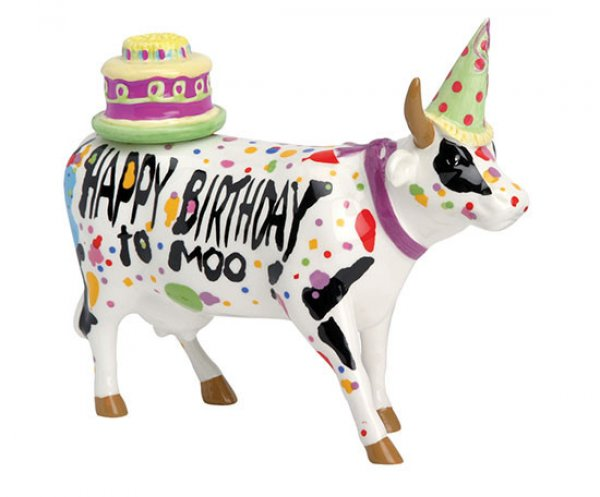Cowparade - Happy Birthday to Moo