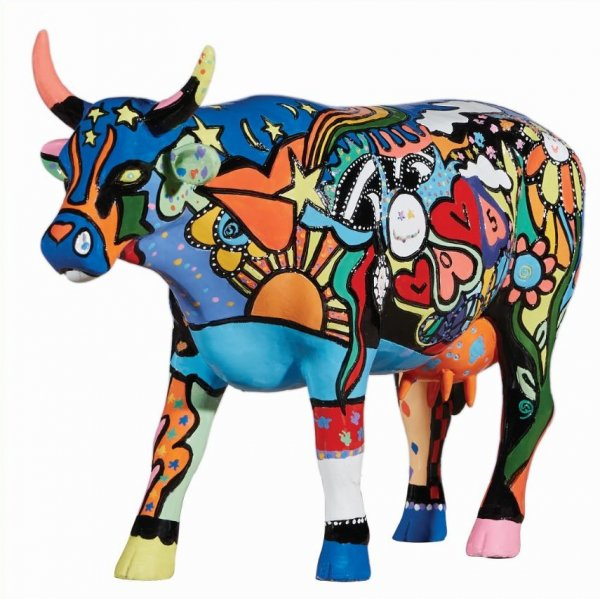 Cowparade - Moosy in the Sky with Diamonds (L)