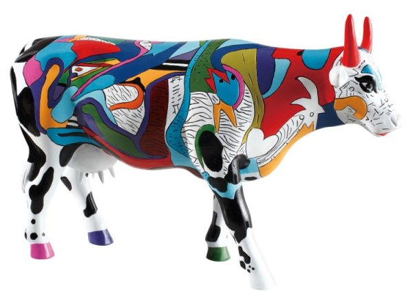 Zivs Udderly Cool Cow (L) - Cowparade