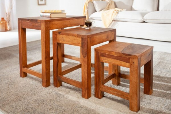 3er Sofa Table Monsoon Sheesham