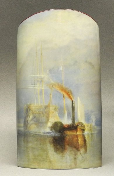 Museum Vase - The Fighting Temeraire -Turner