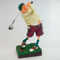Forchino Comic Art Skulpture - Der Golfer (S)